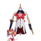 League of Legends Star Guardian Jinx Cosplay Costumes White Outfits GC230