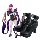 LOL KDA Skin Evelynn Cosplay Shoes