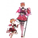Love Live! Little Devil Costumes Rin Hoshizora Anime Cosplay Costumes