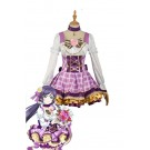 Love Live Bouquet AwakenTojo Nozomi Purple Dress Anime Cosplay Costumes