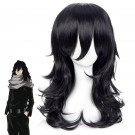 My Hero Academia Anime Shouta Aizawa Long Black Cosplay Wigs