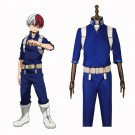 My Hero Academia Shōto Todoroki Anime Black Cosplay Costumes