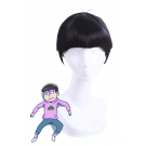 Osomatsu-Kun Anime Cosplay Wigs Short Black Wigs Men Hair