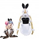 ReZERO -Starting Life in Another World Rem Ram Anime Bunny Girl Cosplay Costumes