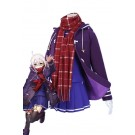 FateGrand Order Mysterious Heroine X Purple Cosplay Costume