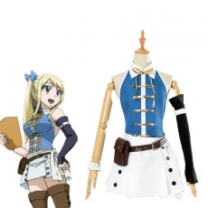 Anime Fairy Tail Lucy Heartphilia Cosplay Costume