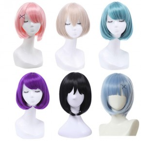 30cm BOB Short Wig 6 Colors Cosplay Wigs