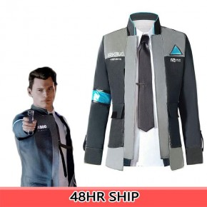 Detroit Become Human RK800 Connor Cosplay Costume