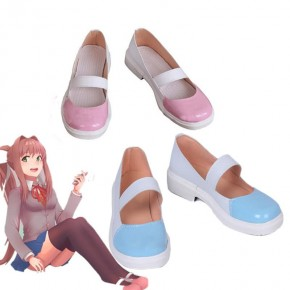 DDLC! Monika Game DDLC Cosplay Shoes