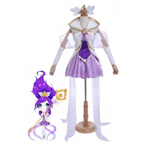 Game LOL Star Guardian Janna Cosplay Costumes
