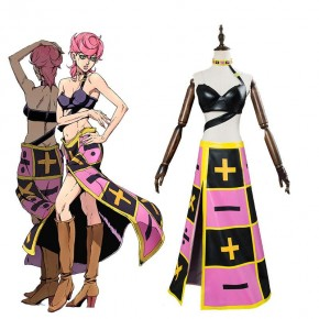 JoJo's Bizarre Adventure Trish Una Full Sets Cosplay Costume
