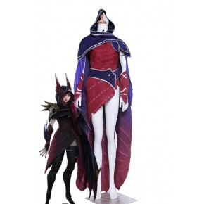 League Of Legends Xayah Game Cosplay Costumes