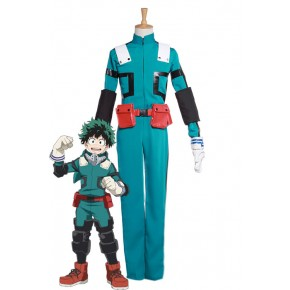 My Hero Academia Izuku Midoriya Cosplay Costumes Second Generation Battle Costumes