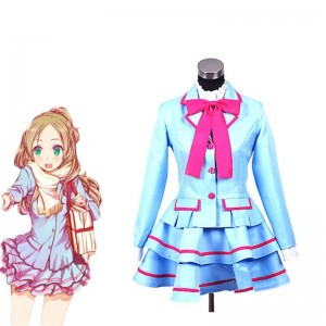 Fresh Pretty Cure! Minamino Kanade Cosplay Costume