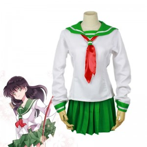 Inuyasha Moneca Stori School Uniform Cosplay Costume