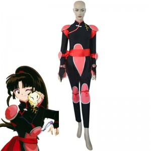 Inuyasha Sango Fighting Cosplay Costume Cool Clothes
