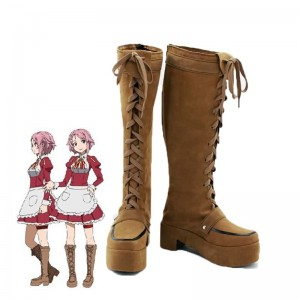 Sword Art Online Rika Shinozaki Cosplay Shoes