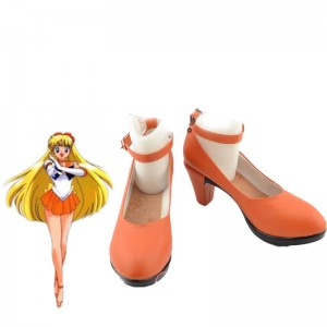 Sailor Moon Minako Aino Cosplay Shoes For Costume