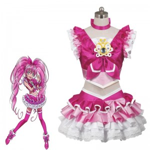 Fresh Pretty Cure! Hojo Hibiki Cosplay Costume