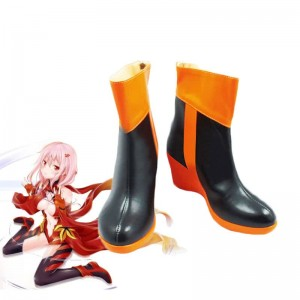 Guilty Crown Yuzuriha Inori Cosplay Shoes Custom Made
