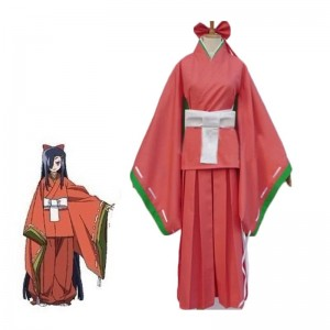 The Future Diary Kasugano Tsubaki Cosplay Costume