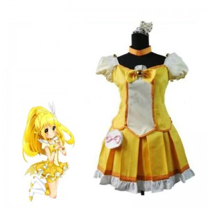 Fresh Pretty Cure! Kise Yayoi Cosplay Costume