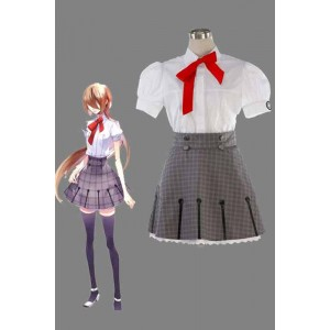 Starry Sky Yahisa Tsukiko Summer School Uniform Cosplay Costume