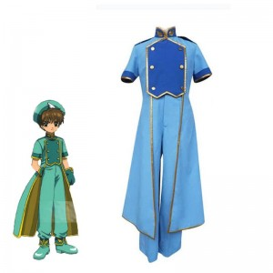 Cardcaptor Sakura Syaoran Li Battle Suit Cosplay Costume