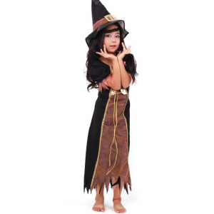 Gauze Child Witch Suit Children's Day Gifts Children's Halloween Costume