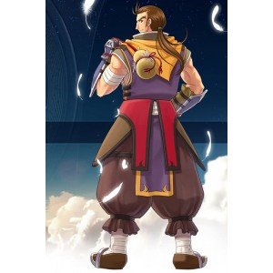 The Legend Of Heroes Zin Vathek Purple Suit Cosplay Costume