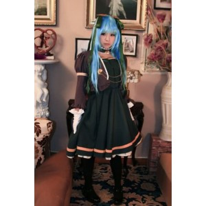 The Legend Of Heroes Tio Plato Black Dress Suit Cosplay Costume