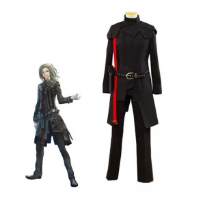 Guilty Crown Ouma SHU Black Battle Cosplay Costume Custom Made