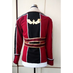 The Legend Of Heroes Lien Schwarzer Red Jacket Cosplay Costume