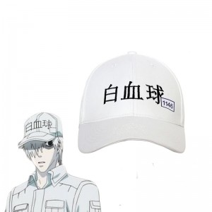 Hataraku Saibou Cells At Work White Blood Cell U-1146 Cosplay Hat