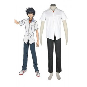 A Certain Magical Index Touma Kamijou Cosplay Costume