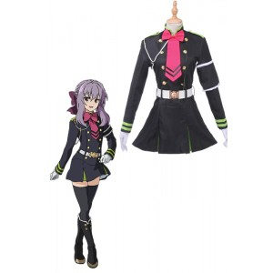 Seraph of the End Hiiragi Shinoa Cosplay Costumes