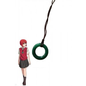 Mahō Tsukai no Yome Chise Hatori Green Anime Cosplay Prop Necklaces