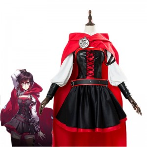 Red Riding Hood Anime Cosplay Costume