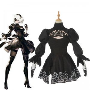 Action Role-Playing Video Game Nier Automata Game 2b Cosplay Costumes