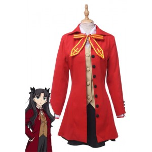 Anime Fate Stay Night Fate/Zero Tohsaka Rin Cosplay Costume Cosplay Dress