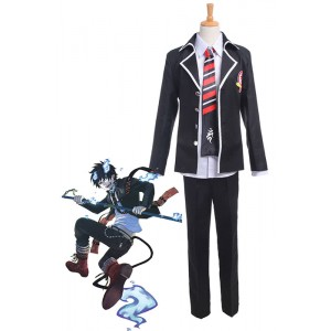 Ao No Exorcist Okumura Rin School Uniform Cosplay Costume Outfit
