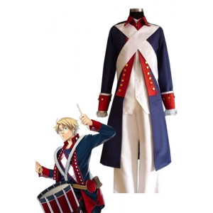 Axis Powers Hetalia American Military Cosplay Costume