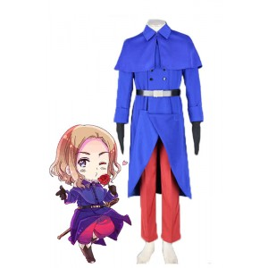 Axis Powers Hetalia France Cosplay Costume