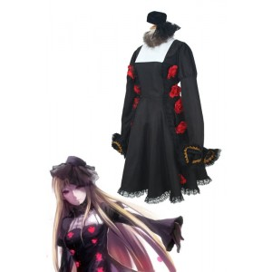 Axis Powers Hetalia Russia Black Dress Cosplay Costume
