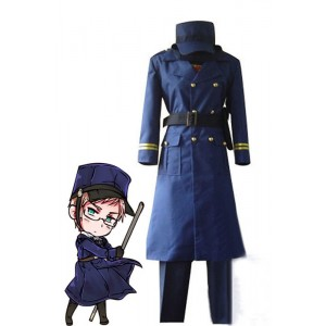 Axis Powers Hetalia Sweden Military Outfits Cosplay Costumes