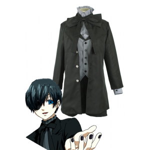 Black Butler Ciel Phantomhive Black Devil Cosplay Costume