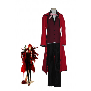 Black Butler Death Scythe Grell Sutcliff Cosplay Costume