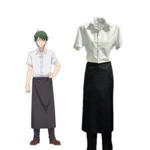 Blend S Kōyō Akizuki Uniform White and Black Cosplay Costumes