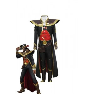 LOL Twisted Fate Quests Zingiber Cosplay Costume
