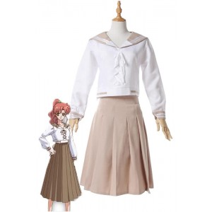 Sailor Moon Sailor Jupiter Kino Makoto 4 Series White Cosplay Costumes